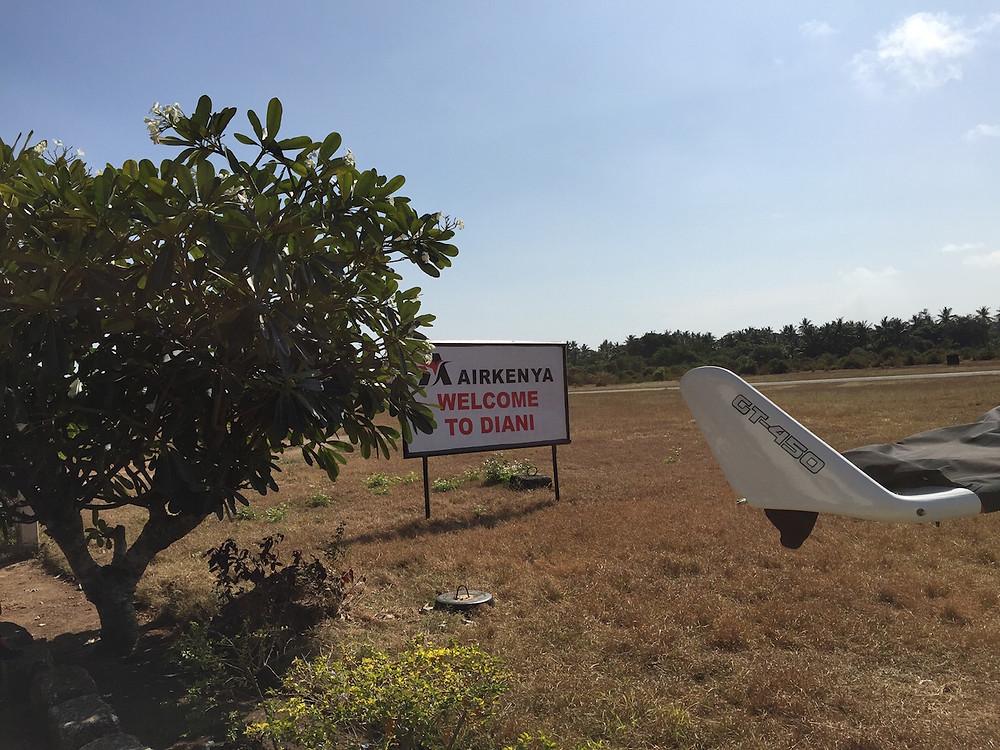 Ukunda Airport Welcome