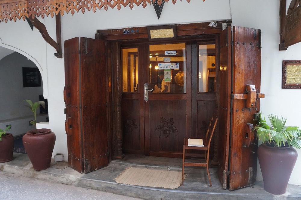 Zanzibar Jafferji entrance