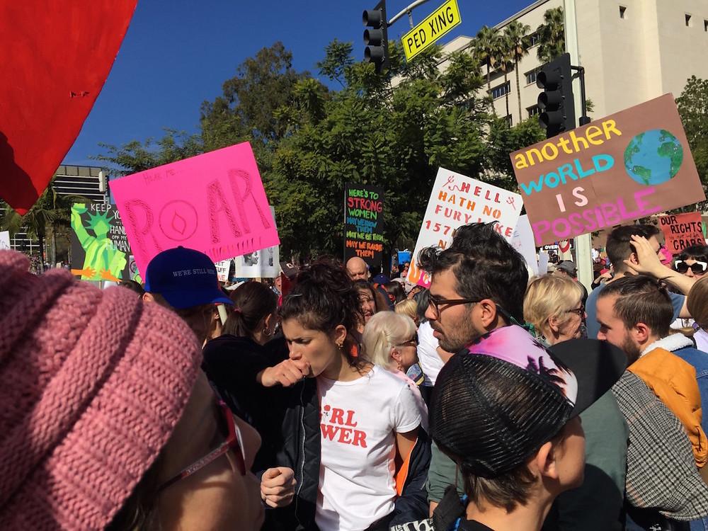 Womens march LA 19