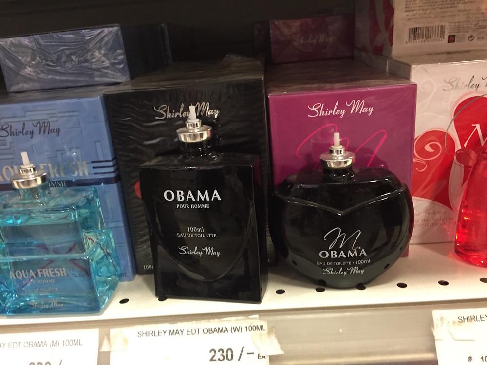 Obama perfume