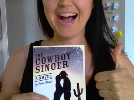 The Cowboy Singer Paperback Is Available! Plus Two New Tour Stops: Change The Word & Samantha M