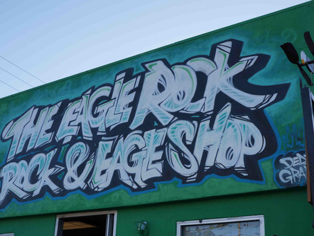 The Eagle Rock Rock & Eagle Shop