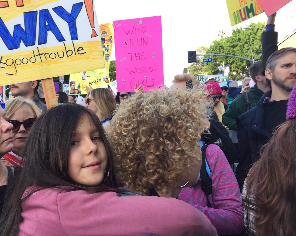 Womens march LA 8