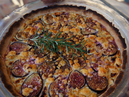 Fig Blue Cheese Tart