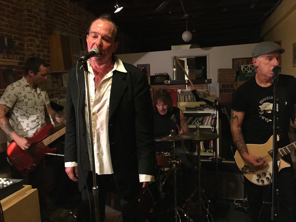 Mike Hudson at  Blue Bag Records