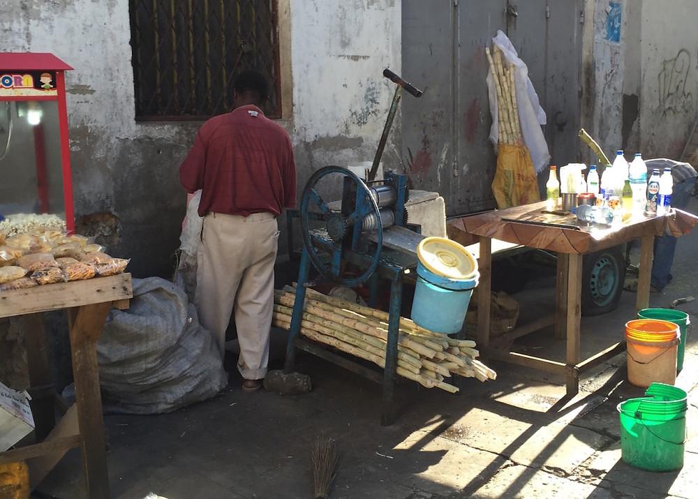 Zanzibar Sugar Cane machine
