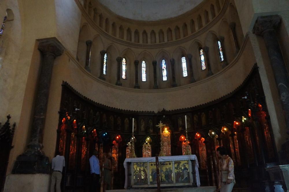Zanzibar church interior