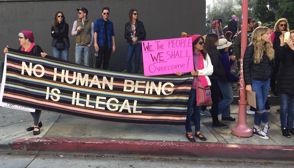 Womens march LA 17