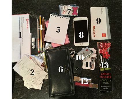 Project Purse Dump: Author Sarah Hegger
