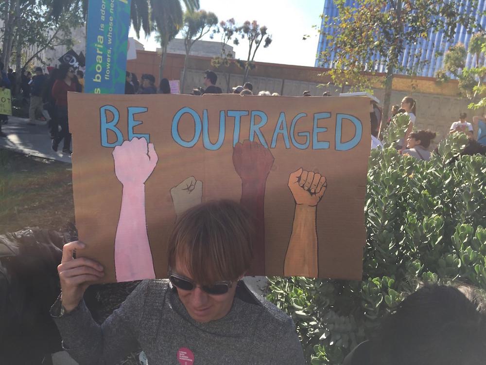 Womens march LA 11