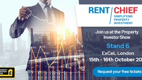 Come and see us at the Property Investor Show 15-16 October ExCeL London