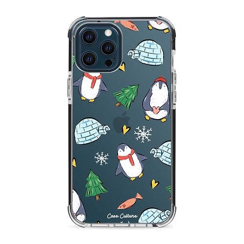 Happy Winter Penguins - รุ่น Clear Impact