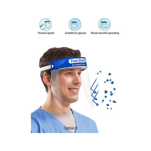 SAFETY FACE SHIELD PROTECTOR