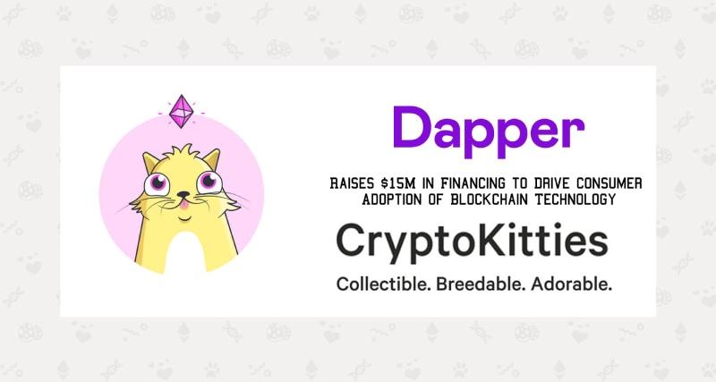 Dapper Labs, the Company Behind CryptoKitties, Raises $15M