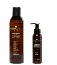 Purifying Wash Shampoo Purificante e Aloe Pure Gel Trattamento pulizia cute