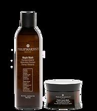 Maple Wash Shampoo Idratante Fusion Luxury Mask Maschera Capelli Super Idratante