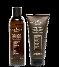 Purifying Wash Purifying Shampoo and Scalp Benefit Purifying Mask