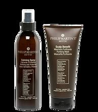 Calming Spray Calmante e Protettivo e Scalp Benefit Maschera Purificante