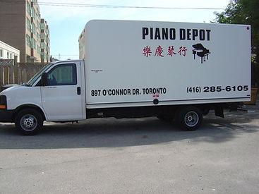 Piano Moving/Movers at Piano Depot