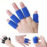 מגני אצבעות לכדורשת בכדורשת שופ,מגני אצבעות אלסטיים, מגני אצבעות שחורים, מגן אצבע לכדורשת, סד לאצבע, שרוול לאצבע, מגיני אצבעות