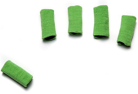 מגני אצבעות אלסטיים 10 יח' ירוק