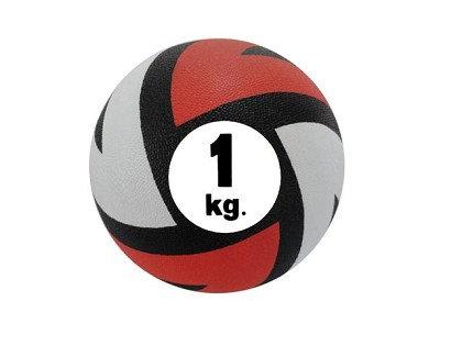 """כדור כוח גומי קופץ 1 ק""""ג"""