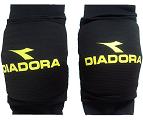 זוג מגני ברכיים דיאדורה שחור