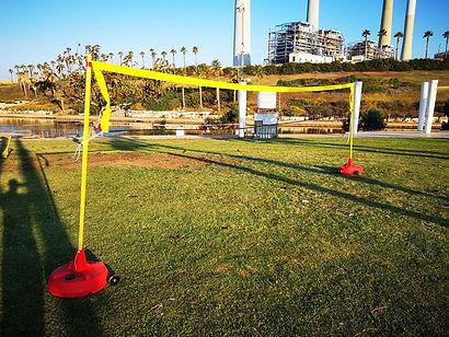 ערכת ניידת כדורשת מקצועית Quick Set