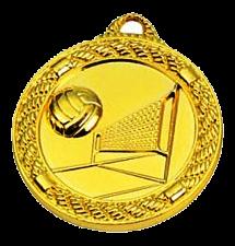 """מדליה זהב קוטר 5 ס""""מ סטנדרטי"""