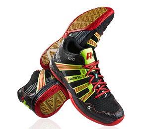 סוליית דבש, נעלי כדורעף גבוהות, נעלי כדורשת גבוהות, catchball shoes, סלמינג R1, Salming R1