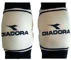 זוג מגני ברכיים דיאדורה לבן