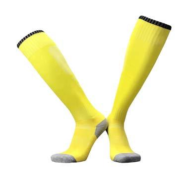 גרבי ספורט גבוהות איכותיות צהוב/שחור