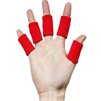 מגני אצבעות לכדורשת, מגן אצבע לכדורשת, שרוול תומך לאצבע