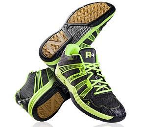 סוליית דבש, נעלי כדורעף גבוהות, נעלי כדורשת גבוהות, catchball shoes, סלמינג R9, Salming R9