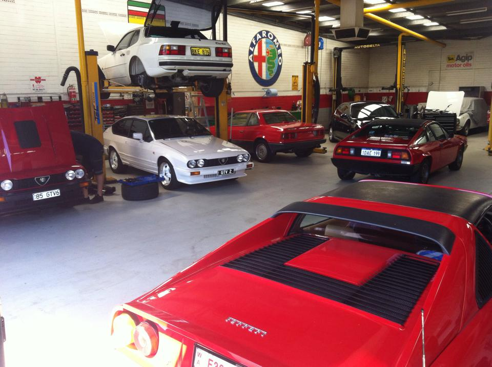 italian car mechanic perth