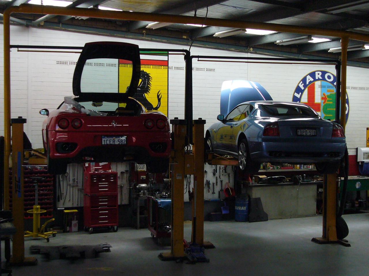 Ferrari Maserati service