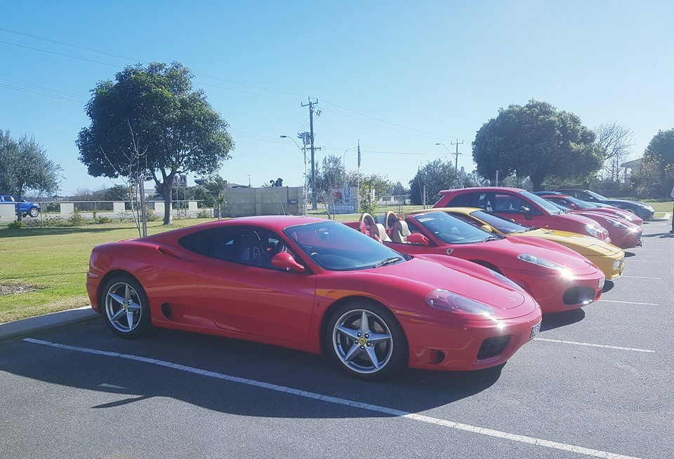 Ferrari club run with Autodelta