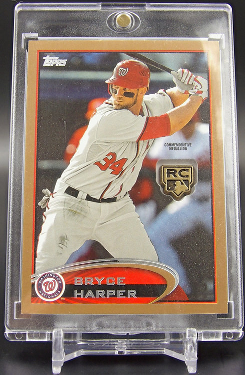 Bryce Harper Topps Medallion Rookie Card #'d 50