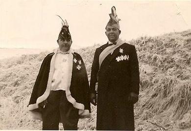Prins Wiel 1e en Nol van de Bogaard 1955