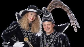 Even voorstellen...Prins Cees en Funkenmarieke Robinn!!!