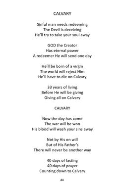 SONGS OF PRAISE 6