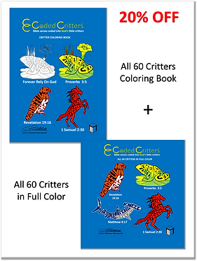 All 60 Full Color & Coloring Book