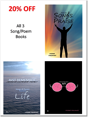 All 3 Song/Poem Books