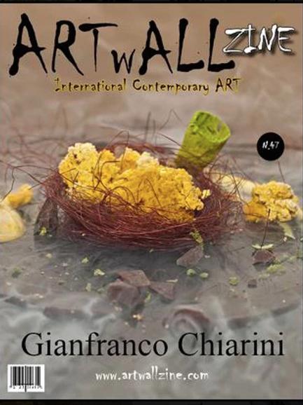 Art Magazine Artwallzine Gianfranco Chiarini Food Art issue 47