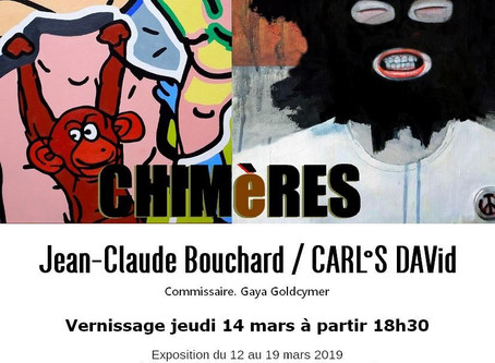 Exhibition in Paris : Chimeres