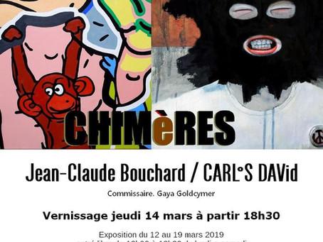 Exhibition in Paris : Chimeres