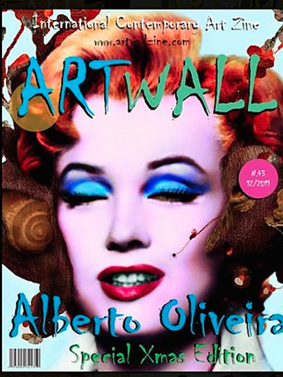 Art Magazine Artwallzine Alberto Oliveira Digital Art issue 43
