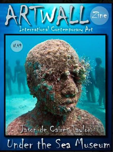 Art Magazine Artwallzine Jason de Caires   issue 49