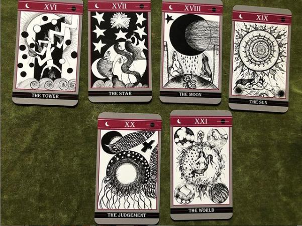 tarot moon deck