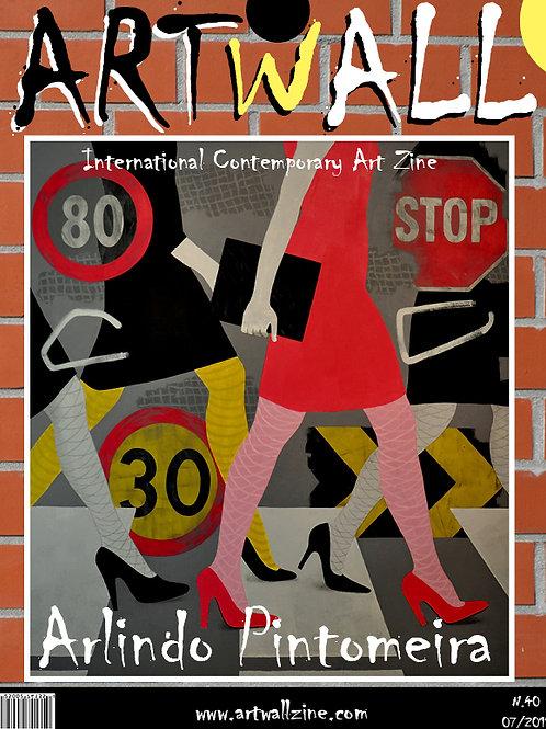 Art Magazine Artwallzine Arlindo Pintomeira Portugal
